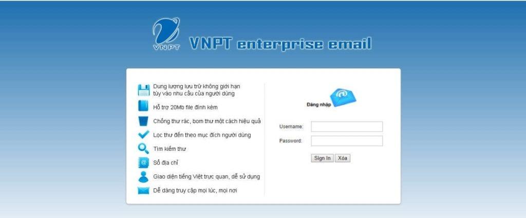 VNPT Mail Server